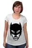 """Футболка для беременных """"Доктор Хаус в маске Бэтмена"""" - house, batman, бэтмен, доктор хаус"""