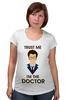 "Футболка для беременных ""Doctor Who "" - doctor who, tardis, доктор кто, теннант, тардис, ho"