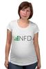 "Футболка для беременных ""NeedForData"" - nfd"