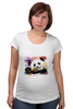 "Футболка для беременных ""Панда с леденцом"" - арт, панда, panda, lollipop, artberry"