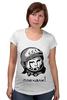 """Футболка для беременных """"Гагарин: поехали """" - space, ссср, космос, ussr, герой, astronaut, космонавт"""