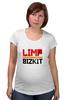 "Футболка для беременных ""Limp Bizkit"" - limp bizkit, lb, wes borland, fred durst, rollin"