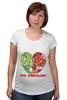 """Футболка для беременных """"GO VEGGIE!"""" - вегетарианец, сыроед, овощи, veggies"""