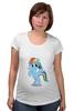 """Футболка для беременных """"Рэйнбоу Дэш"""" - рисунок, pony, rainbow dash, mlp, пони"""