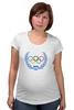 """Футболка для беременных """"Sochi 2014"""" - olympic games, sochi 2014, сочи 2014, олимпийские игры"""