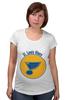 "Футболка для беременных ""Сент-Луис Блюз "" - хоккей, nhl, нхл, сент-луис блюз, saint louis blues"