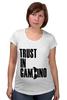 "Футболка для беременных ""Trust in Gambino"" - gambino, гамбино"