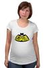 "Футболка для беременных ""Kawaii x Batman"" - batman, бэтмен, kawaii, кавайи"