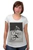 """Футболка для беременных """"девушка на велосипеде"""" - спорт, bmx, велосипед, street, bike, стрит, biking, велоспорт, девушка на велосипеде, дерт"""
