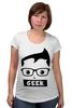 "Футболка для беременных ""Geek (Гик)"" - geek, гик"