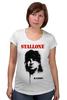 "Футболка для беременных ""Sylvester Stallone"" - актёр, рэмбо, сильвестр сталлоне, rambo, sylvester stallone"