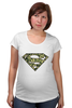 """Футболка для беременных """"Superman - камуфляж"""" - superman, россия, камуфляж, camo"""