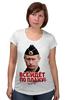 """Футболка для беременных """"Путин. Все идет по плану!"""" - путин, президент, putin, патриотические футболки"""