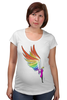 "Футболка для беременных ""Mozart L`opera Rock "" - арт, авторские майки, wings, рисунок, color"