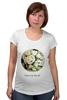 """Футболка для беременных """"Сумочка для упаковки подарка"""" - любовь, цветы, весна, свадьба, невеста, подарок, молодожены, букет, spring"""