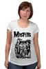 """Футболка для беременных """"Misfits """" - punk rock, misfits, punk, панк, анархия"""