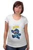 """Футболка для беременных """"Super Mario (Mega Man)"""" - nintendo, марио, mario bros"""