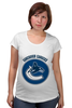 "Футболка для беременных ""Ванкувер Кэнакс "" - хоккей, nhl, нхл, vancouver canucks, ванкувер кэнакс"