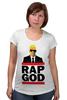 """Футболка для беременных """"Эминем, Бог Рэпа """" - eminem, эминем, бог рэпа, rap god"""