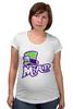 """Футболка для беременных """"Безумный Шляпник (Mad Hatter)"""" - mad hatter, безумный шляпник"""