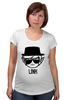"""Футболка для беременных """"Link Heisenberg"""" - игра, во все тяжкие, breaking bad, линк, зельда"""