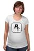 """Футболка для беременных """"Rockstar"""" - авторские майки, games, игры, игра, game, gamer, gta, rockstar, рокстар, rockstar games"""