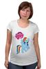 """Футболка для беременных """"my little pony girl"""" - my little pony, пони, для детей, детское"""