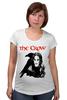 "Футболка для беременных ""The Crow"" - crow, ворон, brandon lee, брэндон ли, the crow"