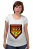 """Футболка для беременных """"Kiss Army"""" - kiss, kiss army, кисс"""