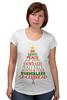 """Футболка для беременных """"Christmas Tree"""" - новый год, звезда, рождество, new year, christmas, christmas tree, 2015"""