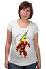 """Футболка для беременных """"The Flash (Молния)"""" - flash, молния, dc, флэш"""