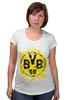 """Футболка для беременных """"боруссия дортмунд"""" - боруссия, германия, дортмунд, логотип"""