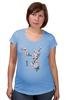 """Футболка для беременных """"Японская сакура"""" - цветы, вишня, иероглифы, сакура"""