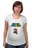 """Футболка для беременных """"Super Mario"""" - mario, dendy, марио, mario bros, 8bit"""