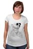 """Футболка для беременных """"Белый Медведь"""" - bear, медведь, белый медведь"""