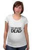 "Футболка для беременных ""The Walking Dead"" - zombie, зомби, ходячие мертвецы, the walking dead"