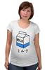 """Футболка для беременных """"milk 1"""" - молоко, аниме, япония, japan, milk"""