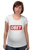 "Футболка для беременных ""swag swag"" - swag, obey"