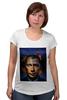 """Футболка для беременных """"Путин vs Обама"""" - америка, россия, обама, путин, президент"""