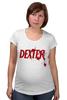 """Футболка для беременных """"Dexter (Декстер)"""" - dexter, декстер, serial killer, серийный убийца"""