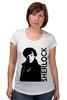 """Футболка для беременных """"Шерлок (Sherlock)"""" - bbc, sherlock, шерлок"""