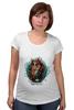 """Футболка для беременных """"Tard Sparrow """" - кот, арт, стиль, cat, пират, pirate"""