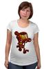 """Футболка для беременных """"Бомбермэн (Bomberman)"""" - железный человек, iron man"""