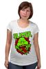 """Футболка для беременных """"Лизун (Slimer)"""" - охотники за привидениями, ghostbusters, лизун"""