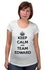 "Футболка для беременных ""Edward Snowden"" - америка, россия, keep calm, edward snowden, эдвард сноуден"