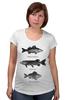 """Футболка для беременных """"Коллекция рыб"""" - рыба, fish, рыбалка"""
