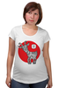 """Футболка для беременных """"Символ 2015"""" - новый год, символ, 2015, коза, goat"""
