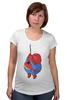 """Футболка для беременных """"Fat Spiderman"""" - spider-man, человек-паук, обжорство, спайдермен"""