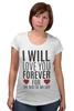 """Футболка для беременных """"Любовь до гроба!"""" - любовь, сердца, love you forever"""