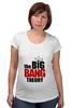 "Футболка для беременных ""the big bang theory"" - the big bang theory, теория большого взрыва"